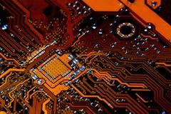 circuito elettronico Fotografia Stock Libera da Diritti