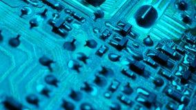 circuito elettronico video d archivio