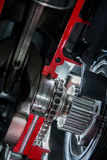 Circuito en el motor Fotografía de archivo