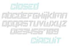 Circuito fechado ilustração do vetor