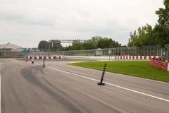 Circuito Gilles Villeneuve a Montreal Quebec Canada fotografia stock