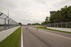 Circuito Gilles Villeneuve a Montreal Quebec Canada fotografie stock libere da diritti