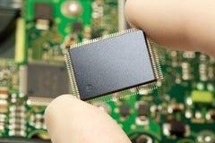 Circuito integrado foto de stock