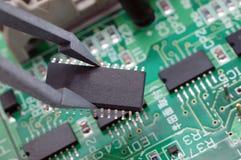 Circuito integrado Fotografia de Stock Royalty Free