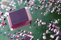 Circuito integrado Imagem de Stock