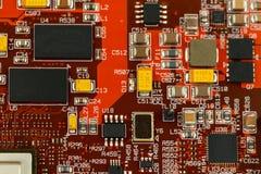 Circuito integrado característico da aplicação Imagens de Stock Royalty Free