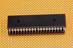 Circuito integrado - microplaqueta fotos de stock