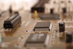 Circuito integrato 4 immagini stock
