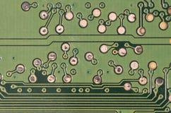 Circuito integrato utilizzato nell'elettronica fotografie stock
