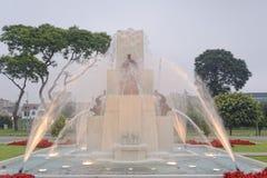 Circuito mágico Lima Peru da água Imagens de Stock Royalty Free