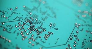 Circuito, microchip Fotografia Stock Libera da Diritti