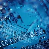 Circuito, microchip Fotografia Stock