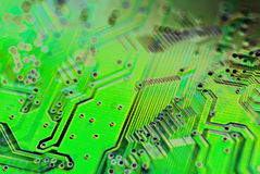 Circuito, microchip immagini stock