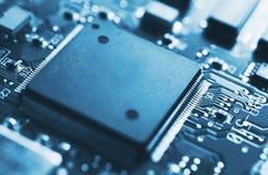 Circuito, microchip immagine stock