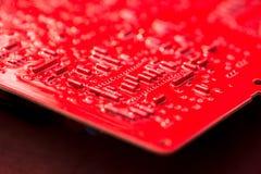Circuito rosso Immagini Stock