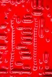 Circuito rosso Fotografie Stock Libere da Diritti