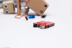 Circuito rosso per il robot Fotografia Stock Libera da Diritti