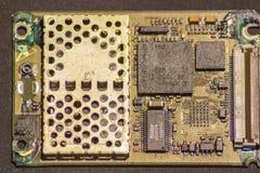 Circuito stampato di elettronica immagini stock libere da diritti