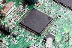 Circuito stampato elettronico del PWB Fotografie Stock