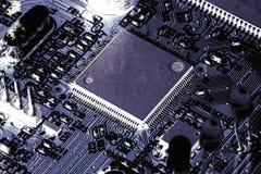 Circuito stampato elettronico del PWB Fotografia Stock Libera da Diritti