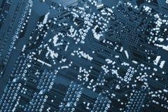 Circuito-tarjeta de los ordenadores Imagen de archivo