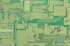 Circuitos do computador Imagens de Stock