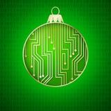 Circuitos do microprocessador. Imagem de Stock Royalty Free