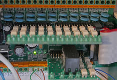 Circuitos eléctricos de la tarifa Imagen de archivo