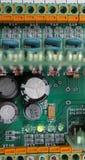 Circuitos eléctricos de la tarifa Fotografía de archivo libre de regalías