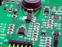Circuitos electrónicos Imágenes de archivo libres de regalías