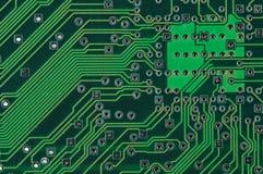 Circuitos electrónicos Imagen de archivo