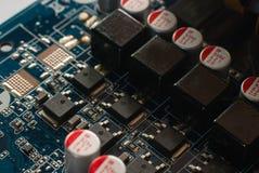 Circuitos electrónicos Foto de archivo libre de regalías