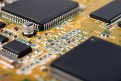 Circuitos eletrônicos Imagem de Stock