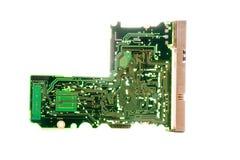 Circuitos eletrônicos Foto de Stock