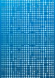 Circuitos eletrônicos no azul ilustração do vetor