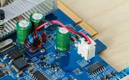 Circuitos eletrônicos Fotografia de Stock