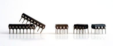 Circuitos integrados Fotos de Stock