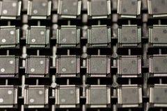 Circuitos integrados de SMD fotografía de archivo