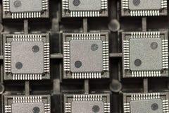 Circuitos integrados de SMD Imagens de Stock