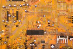 Circuitry. Royalty Free Stock Photography