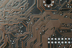 Circuitry for background or design closeup Stock Photography