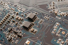 Circuits électroniques photo stock