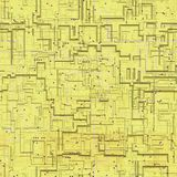 Circuits abstract seamless generated texture Royalty Free Stock Photo