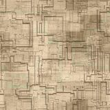 Circuits abstract seamless generated texture Stock Photo