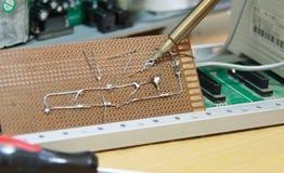 Circuits de jambe de LED images libres de droits