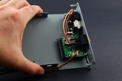 circuits elektroniska delar Royaltyfri Fotografi