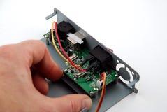 circuits elektroniska delar Royaltyfri Foto