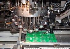 Circuits intégrés de fabrication photo libre de droits