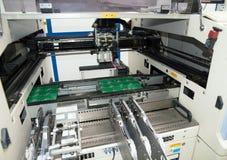 Circuits intégrés de fabrication photographie stock libre de droits