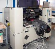 Circuits intégrés de fabrication photo stock
